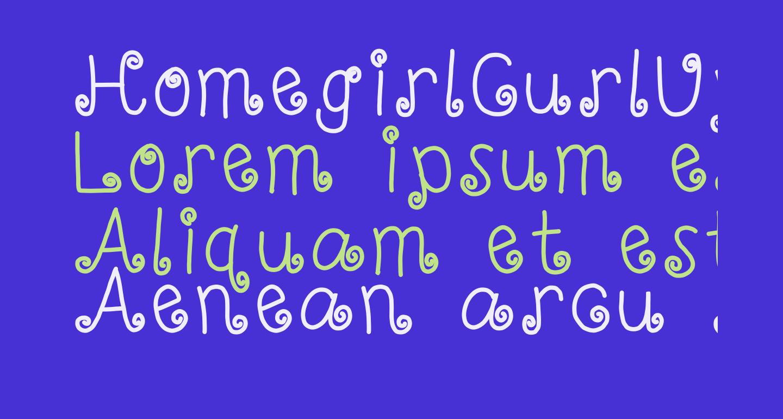 HomegirlCurlUp