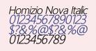 Homizio Nova Italic