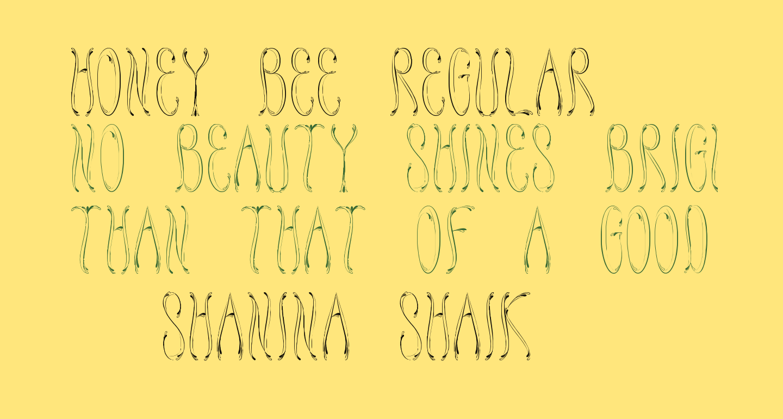 Honey Bee Regular