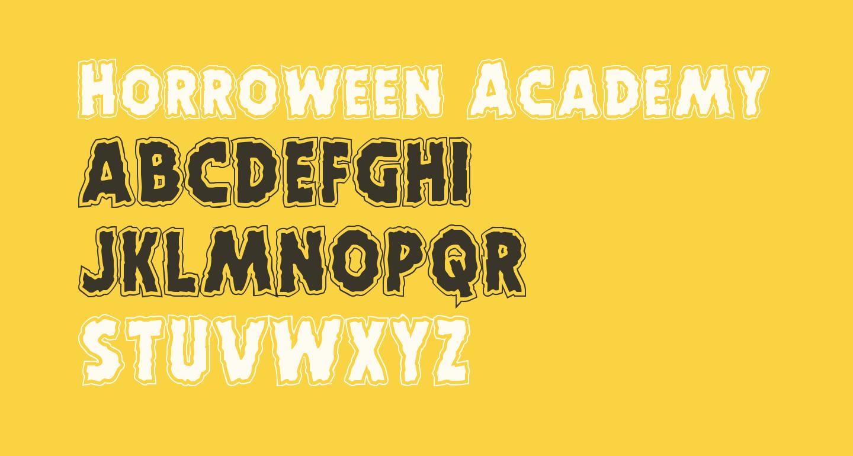 Horroween Academy