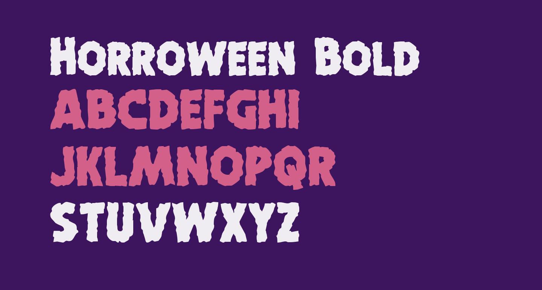 Horroween Bold