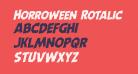 Horroween Rotalic