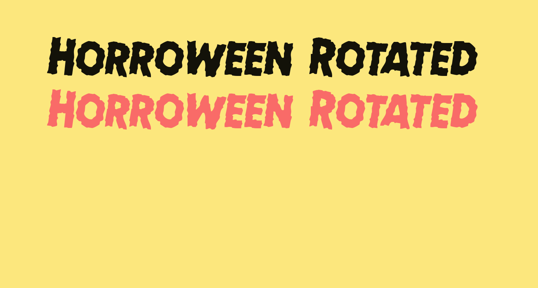 Horroween Rotated 2