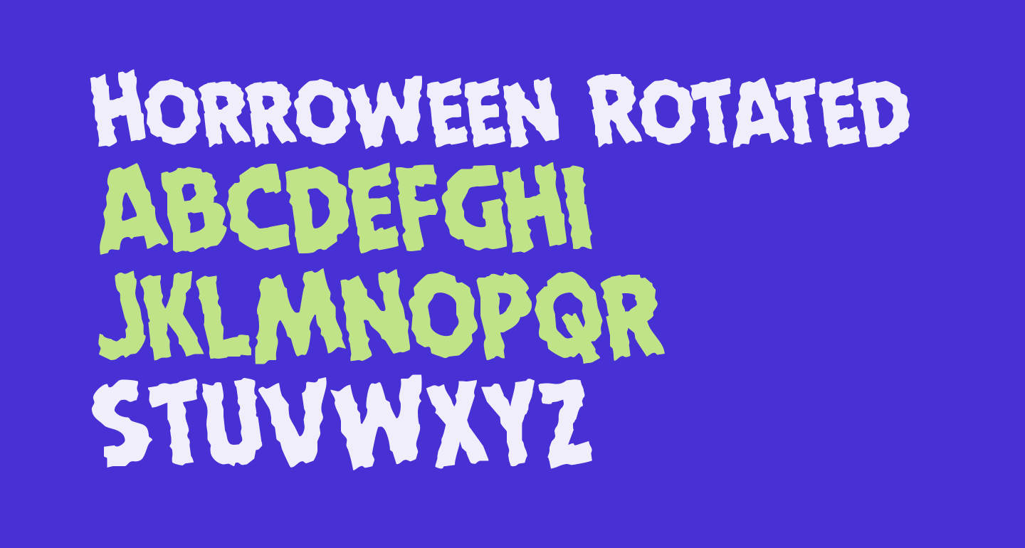 Horroween Rotated