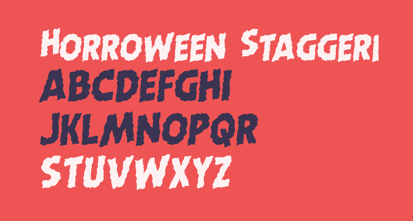 Horroween Staggered Rotalic