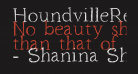 HoundvilleRegular