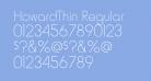 HowardThin Regular