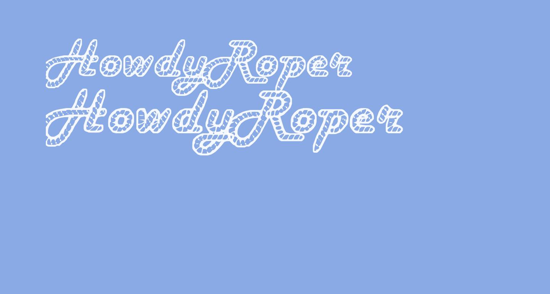 HowdyRoper