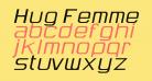 Hug Femmes Italic