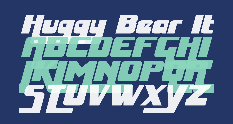 Huggy Bear Italic