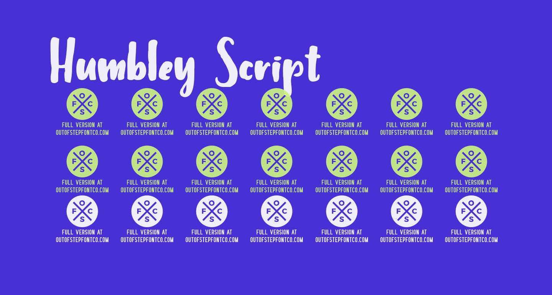 Humbley Script