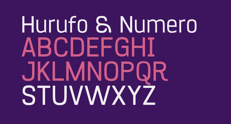 Hurufo & Numero