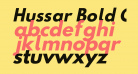 Hussar Bold Oblique Two