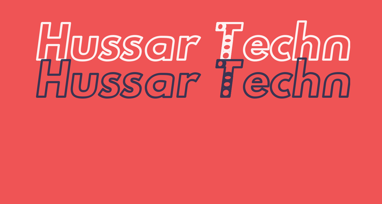Hussar Techniczny Outline Oblique
