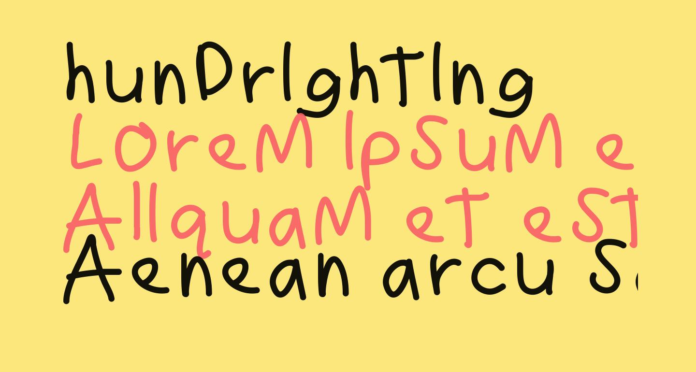 hundrighting