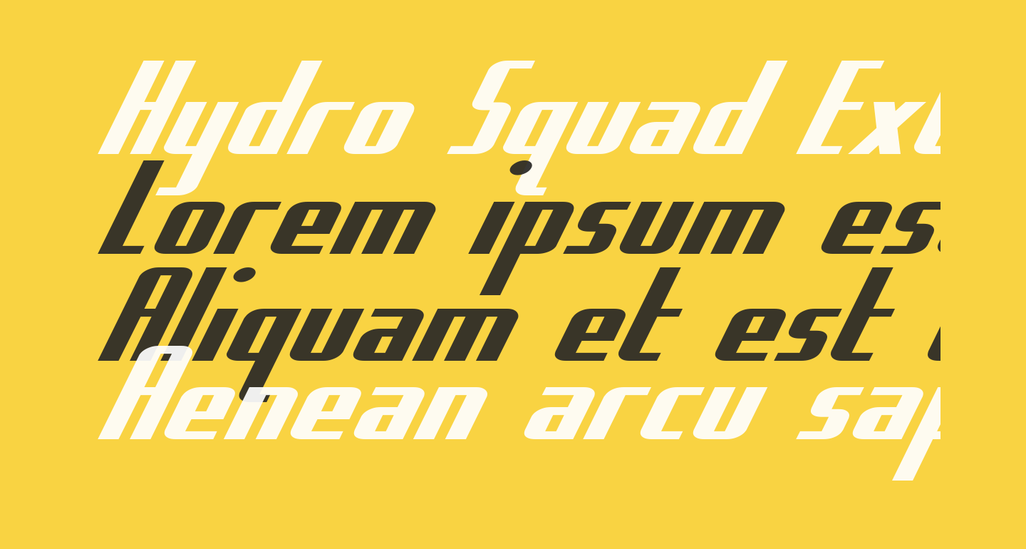 Hydro Squad Extra-Expanded