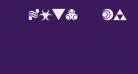 Hylian Symbols