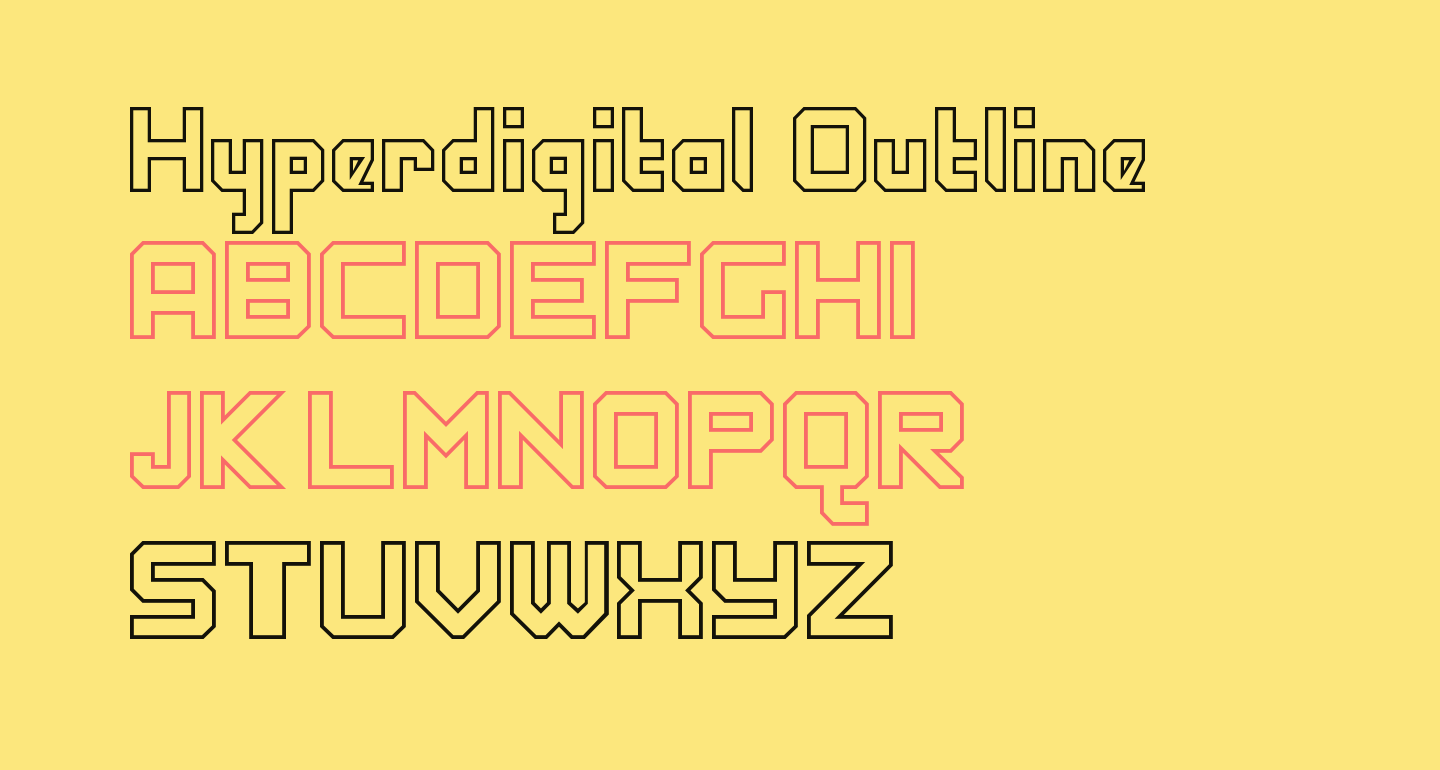 Hyperdigital Outline