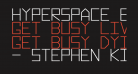 Hyperspace Bold