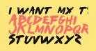 I Want My TTR! Bold