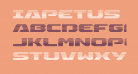 Iapetus Gradient Regular