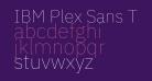 IBM Plex Sans Thin