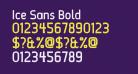 Ice Sans Bold