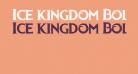 Ice kingdom Bold