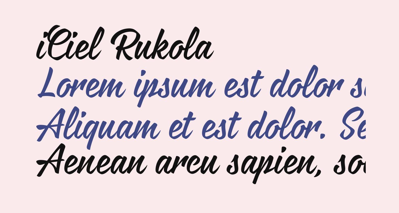 iCiel Rukola