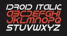 IDroid Italic