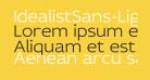 IdealistSans-Light