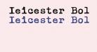 Ieicester Bold