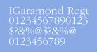 IGaramond Regular