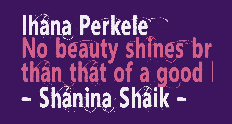 Ihana Perkele
