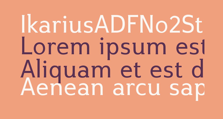 IkariusADFNo2Std-Regular