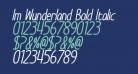 Im Wunderland Bold Italic