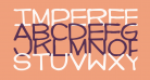 Imperfect font
