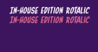 In-House Edition Rotalic