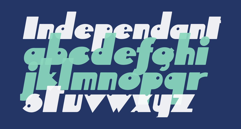 Independant Italic