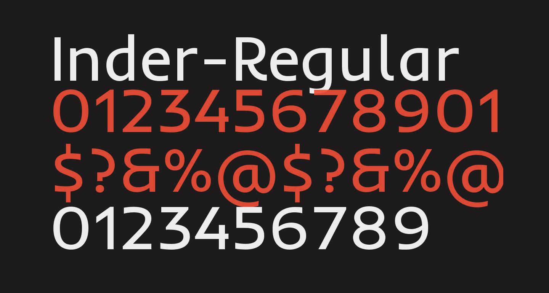 Inder-Regular