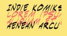 Indie Komiks Sketch Italic