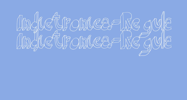 Indietronica-Regular
