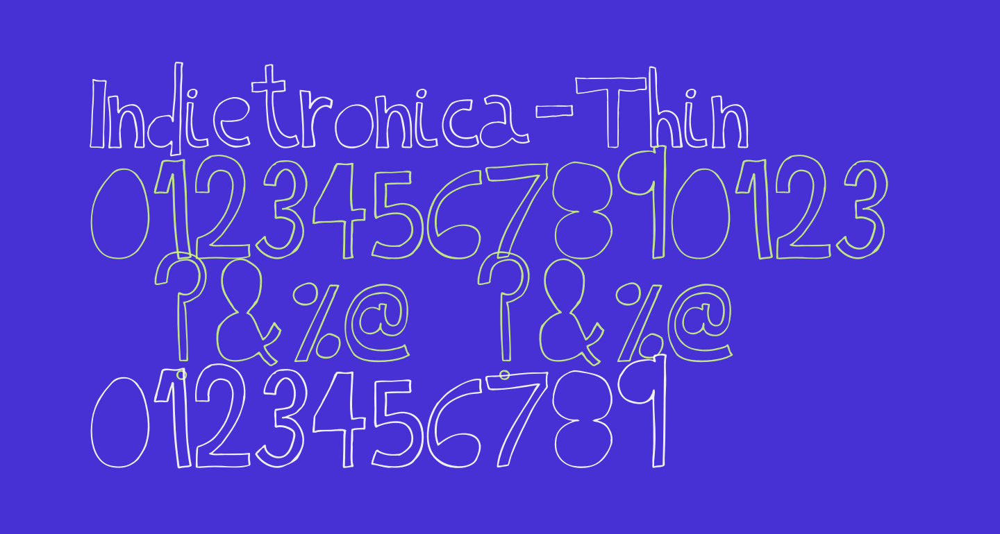 Indietronica-Thin
