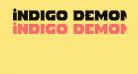 Indigo Demon Condensed