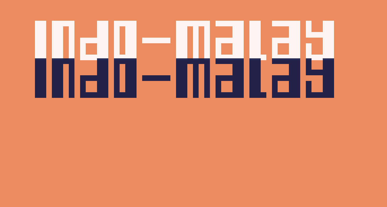 Indo-Malay Confrontation Regular