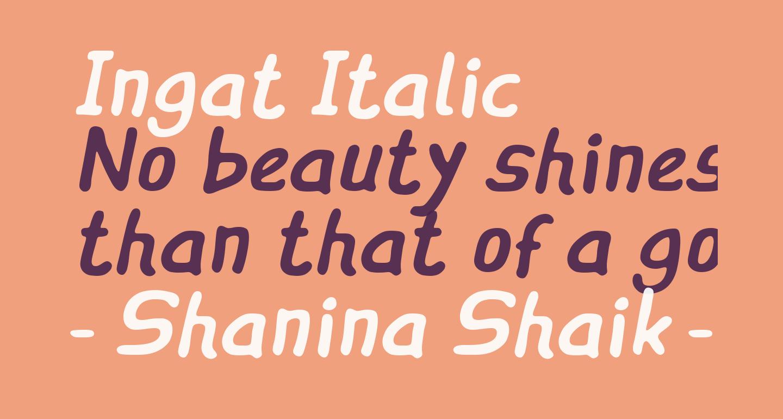 Ingat Italic