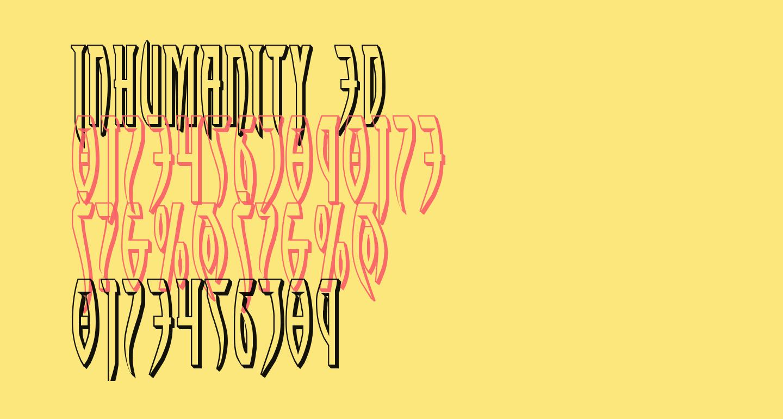 Inhumanity 3D