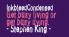 InkbleedCondensed