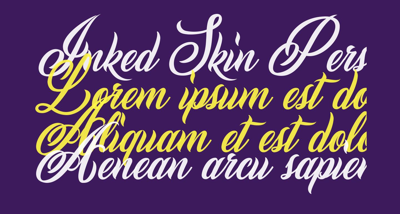 Inked Skin Personal Use