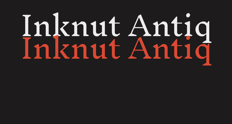 Inknut Antiqua Light